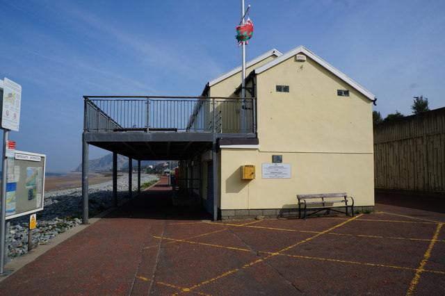 Yacht Club Building at Penmaenan