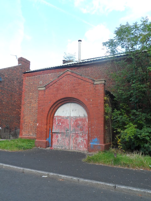 Patricroft Drill Hall - Pembroke Avenue Entrance