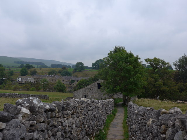 Dales Way trek from Bolton Abbey to Pinder Stile (162)
