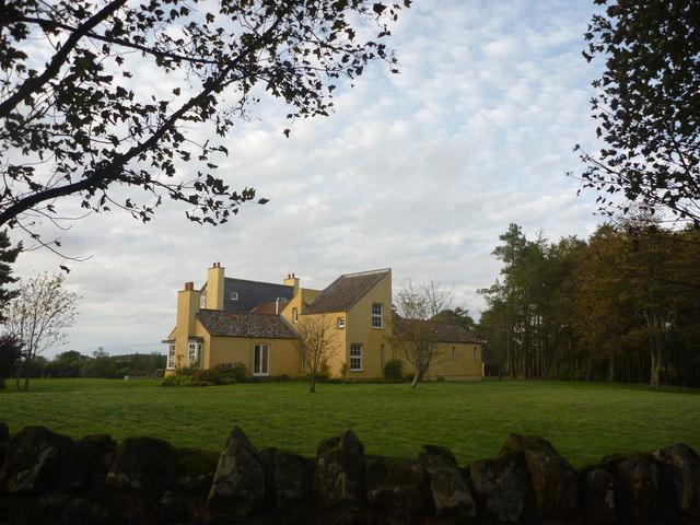 Rural East Lothian : House Near Newlands