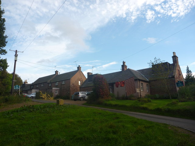 Rural East Lothian : Houses At Newlands
