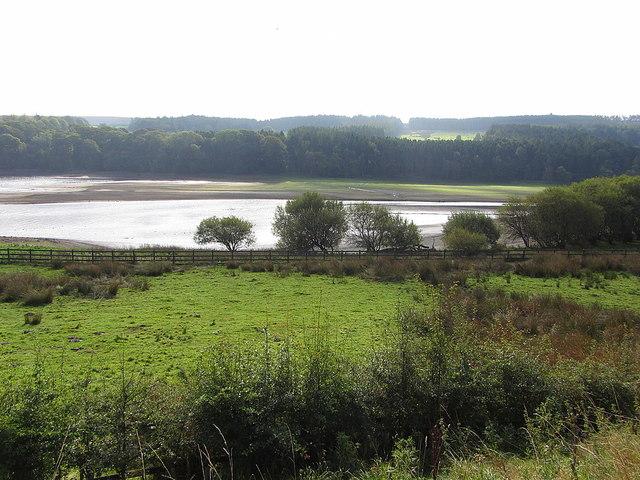 Derwent Reservoir south of Tod Hill