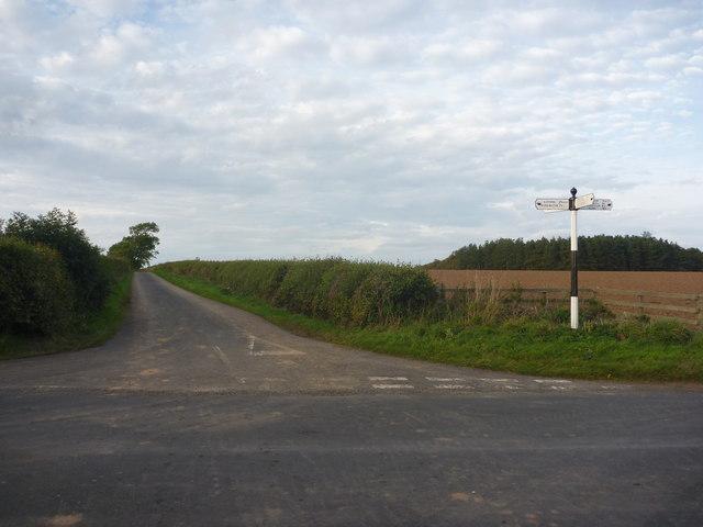 Rural East Lothian : Danskine Crossroads