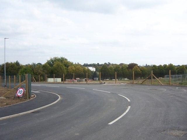 Rerouted St Andrew's Road, Uxbridge
