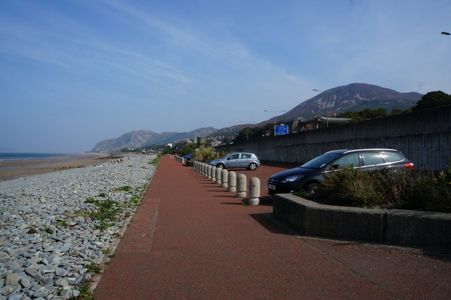 Wales  Coast Path at Penmaenmawr