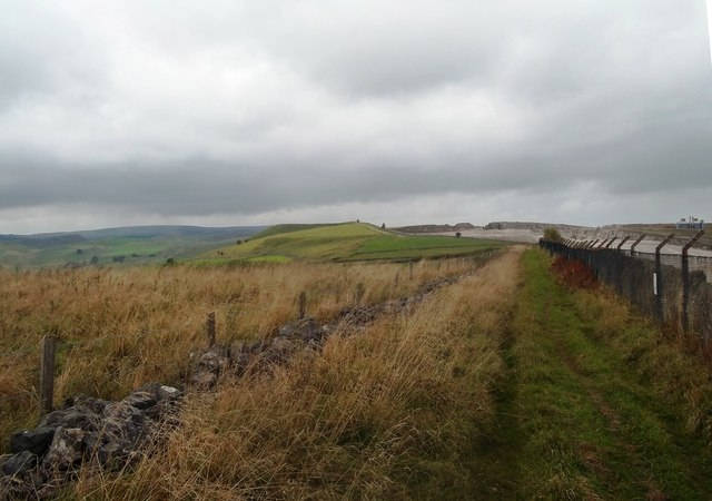 Bridleway and Perimeter Fence of Dowlow Works