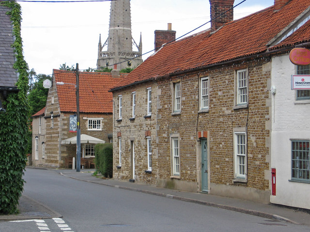 Caythorpe - east side of north end of High Street