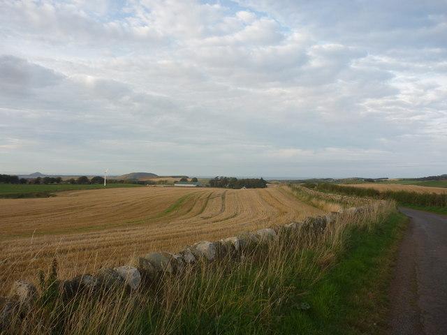 Rural East Lothian : Landscape Near Carfrae