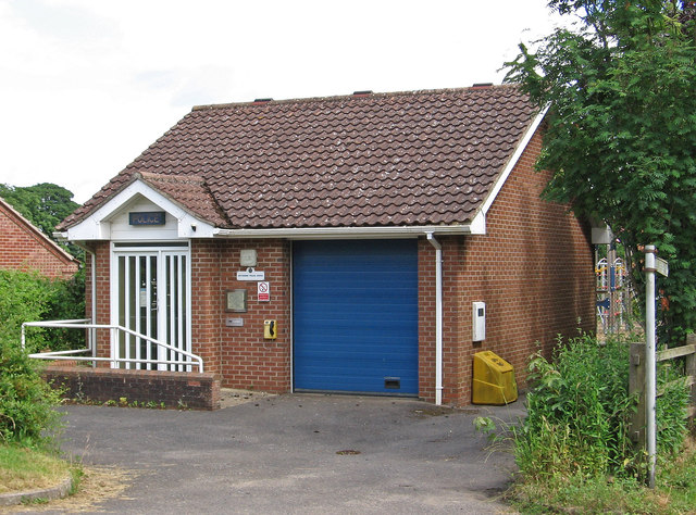 Caythorpe - police office on Old Lincoln Road