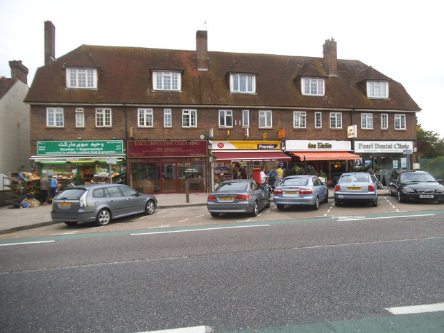 Shops on Kingston Vale