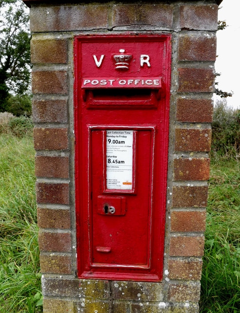 Crossroads Victorian Postbox