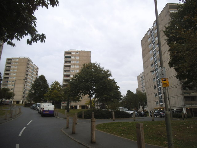Tower blocks on Tangley Grove, Roehampton