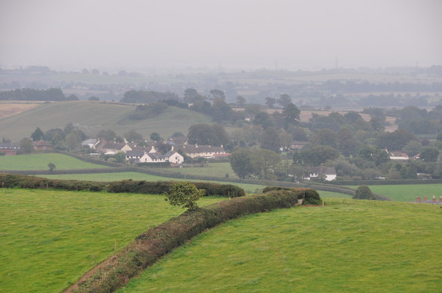 Mid Devon : Countryside Scenery