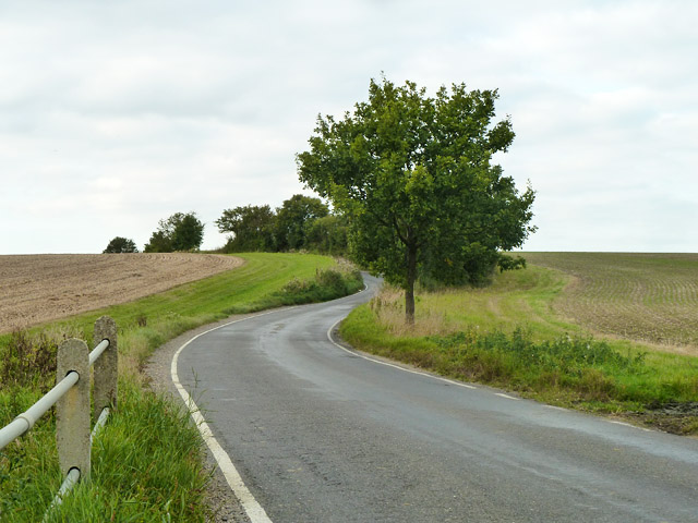 Radwinter Road winds uphill