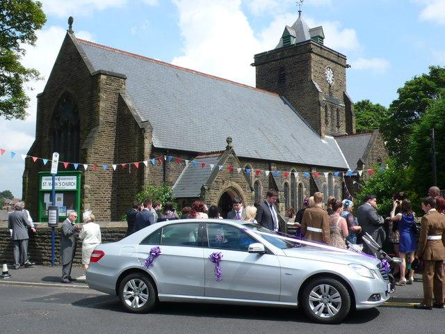 Wedding at St Marks Church Mosborough