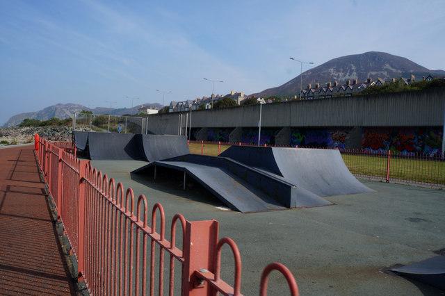Skate park at Penmaenmawr