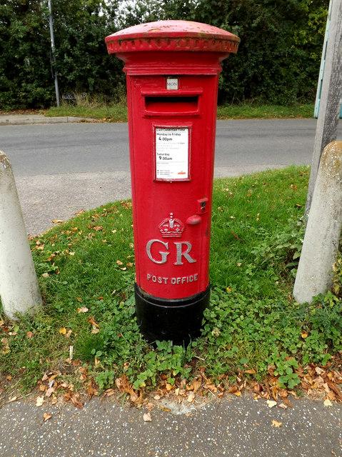 Village Hall George V Postbox