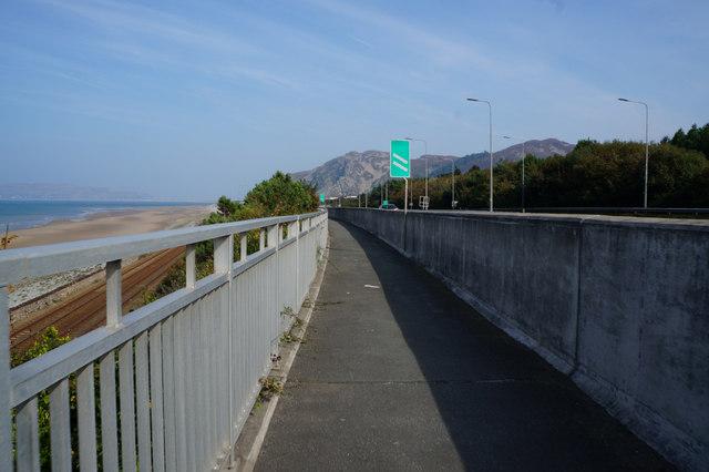 Wales  Coast Path towards Dwygyfylchi