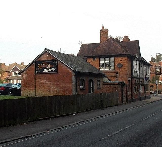 South side of The Lamb Inn, Basingstoke