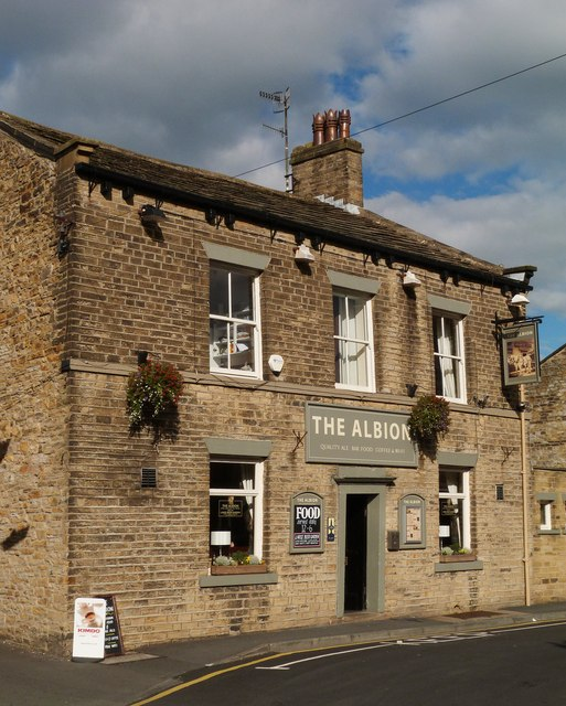 """The Albion"" public house, Skipton"