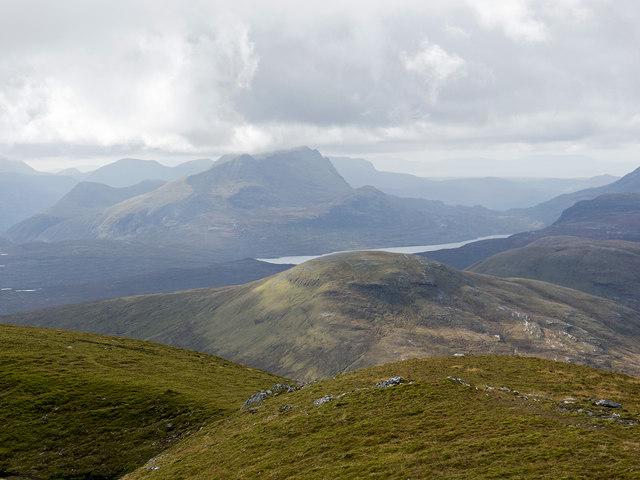 SW Ridge of A' Chailleach