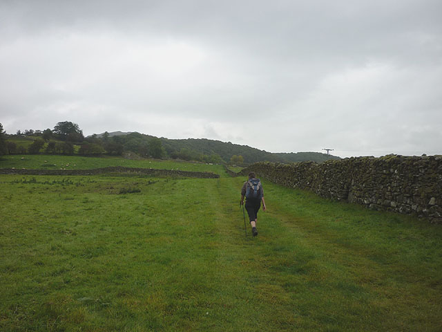 Footpath to Green Bank, Lickle Valley