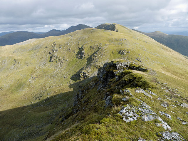 East ridge of A' Chailleach