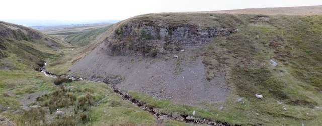 Gorge below Pitwellt Pond