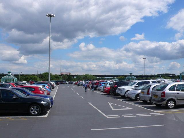 Meadowhall Shopping Centre Car Park Postcode