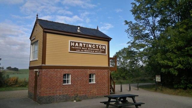 Hartington signal box on Tissington Trail