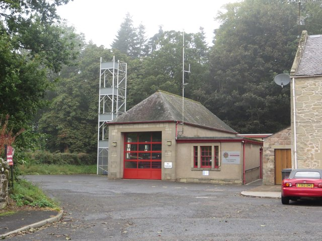 Duns Fire Station