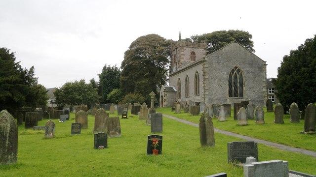 St Margaret's church, Wetton