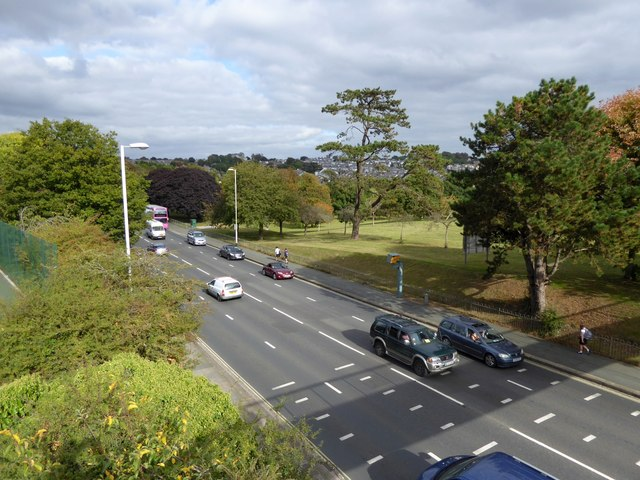 Outland Road (A386), Plymouth