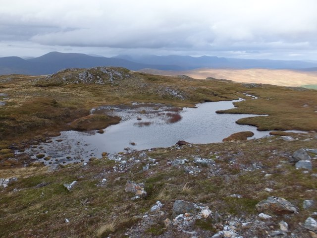 Lochan to south of Creag Coir' a' Bhuic