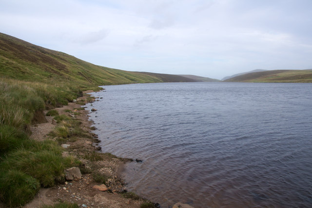 Loch of Cliff south of Petester