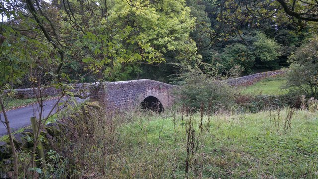 Ecton Bridge over the River Manifold