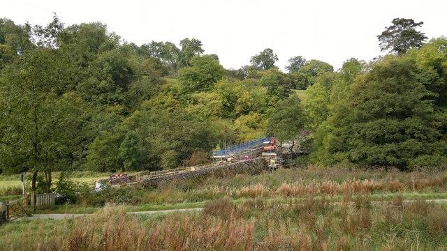 Dale Bridge over the River Manifold