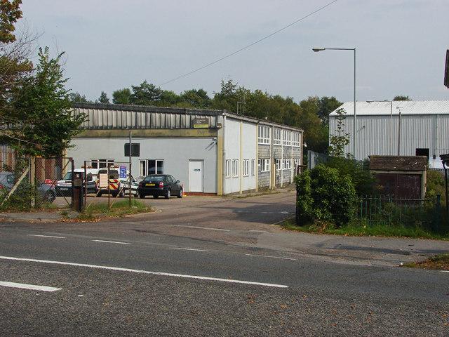 Council depot, Bagshot