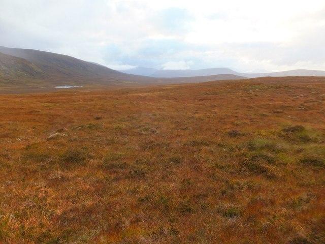 Wet moorland, Mòinteach Coir' a' Bhuic