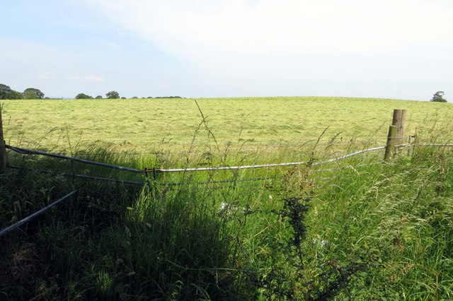 An arable field near Boarstall
