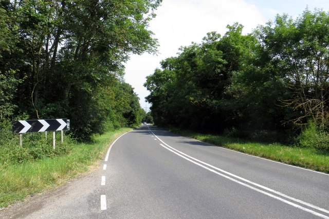 The B4011 to Blackthorn