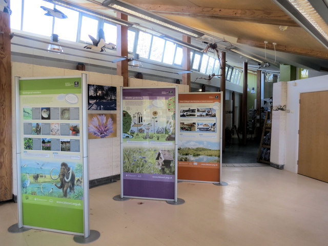 DIsplay Panels in the Visitor Centre, College Lake