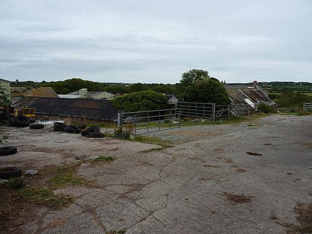 Barns and sheds at Syke Farm