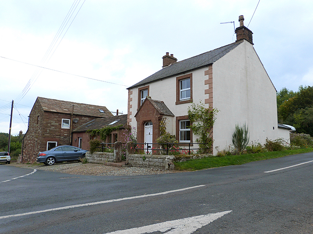 Cottage on the bend in High Bankhill