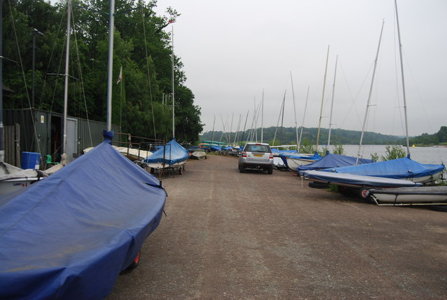 Sailing club, Ardingly Reservoir