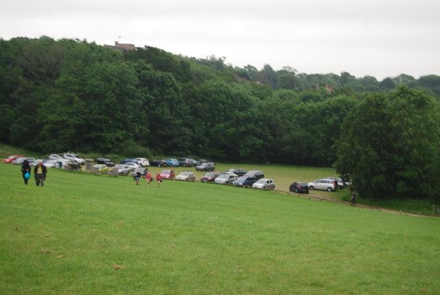 Car park, Ardingly Reservoir