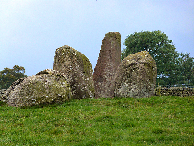 Long Meg and three of her daughters