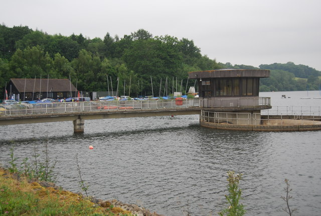 Draw off tower, Ardingly Reservoir