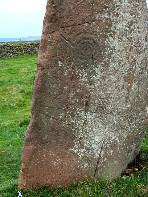 Long Meg (detail)