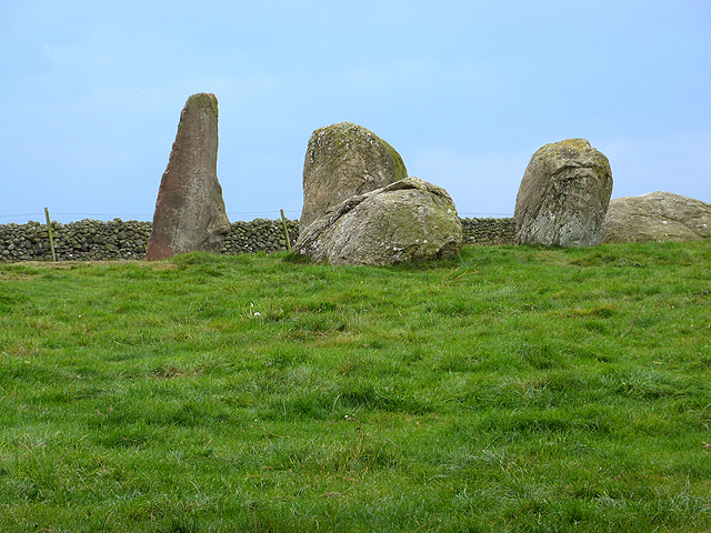 Long Meg and four of her daughters